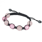 SHAMBALA Jewellery Making Kit, Pink and Rose Quartz