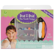 Iris Bead and Braid Floss Bracelet Boutique, Pretty Pastels