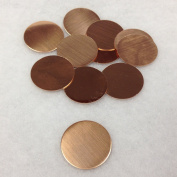 "RMP Stamping Blanks, 1"" Round, Copper, 25.4mm, 24 Ga., 470ml"