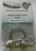 . Heart & Arrow Peridot Green Bracelet Kit