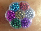 8mm 200pcs Colourful DIY Jingle bells Festival & Christmas Decoration Jewellery Pendants