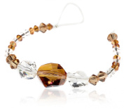 CREATE YOUR STYLE with. ELEMENTS Cosmic Beads Bicones, Crystal Copper