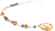CREATE YOUR STYLE with. ELEMENTS Briolette Pendant Strand, Crystal Copper