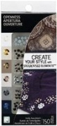 . HotFix Crystals 150 Piece Combo Pack, Openness Assortment by Create Your Style