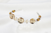CREATE YOUR STYLE with. ELEMENTS Round Bead Strand, Light Colorado Topaz