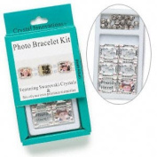 Crystal Innovations Photo Bracelet Kit Heart Rose. Crystal