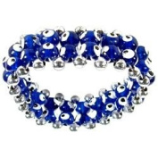 Evil Eye Bracelet - Dark Blue