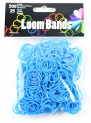 Touch of Nature Loom Bands Value Pack for Jewellery, Includes Band and Clasps, Turquoise