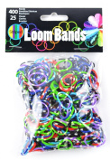 Touch of Nature Loom Bands for Jewellery, Striped, Assortment