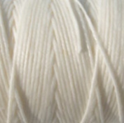 Waxed Irish Linen-White. Sold per 10 yards of 4-ply
