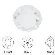 4mm White Clear Crystal Birthstone Charms-for Floating Locket Pendant-10pcs
