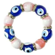 Pink Evil Eye Bracelet - KID SIZE