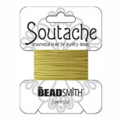 Beadsmith Soutache Braided Cord 3mm Wide - Maize
