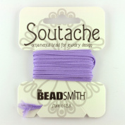 Beadsmith Soutache Braided Cord 3mm Wide - Lavendar