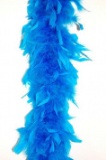65 Gramme Chandelle Feather Boa - TURQUOISE 2 Yards