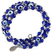 Evil Eye Bracelet - Triple Row