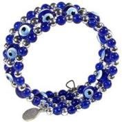 Evil Eye Bracelet - Triple Row