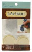 Laliberi Julie Comstock Adhesive Rounds, Medium/Small Mix