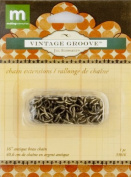 Making Memories Jill Schwartz Vintage Groove Findings Chain Extensions Brass