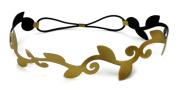EK Success Brands Laliberi Stretch Headband Base, Diecut Black and Gold