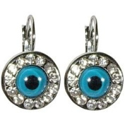 Evil Eye Earrings - Round