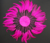 3 Pcs Full Pinwheels - HOT PINK