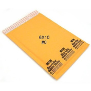 50 6x10 Bubble Mailer Self Sealing Shipping Envelope #0