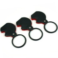 3 Folding Magnifier 3X Pocket Magnifying Glass w/ Case