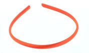 Trimweaver 12-Piece Satin Covered Plastic Headband for Jewellery Making, 7mm, Autumn Orange