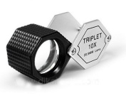 Grandindex Jewellery Loupe Magnifier Gm-10205a with 10x Magnification 20.5mm Lens,great Jewellery Loupe for Jeweller