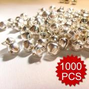 (Price/1000pcs)Aspire 10mm Silver Tone Bells Wholesale, DIY Party Favours