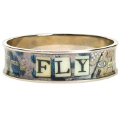 Santa Barbara Design Studio Wide Bangle from Artist Sally Jean, Fly