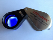 Grandindex Gemological LED with Uv Lighted Loupes Gm1021-dp,jewellery Loupe Magnifier with 10x-21mm