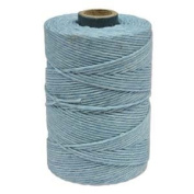 Waxed Irish Linen-Robin's Egg Blue Sold per 50 gramme spool approx 90-100 yards of 4-ply
