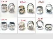 Scarf Ring Fashion Jewellery Supplies Fashion Rings for Scarves with Jewellery 6 Design Total 48pc