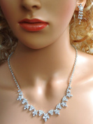 SC Bridal Crystal Necklace Set N1D65