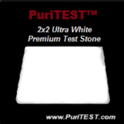 2x2 NEW White Pro Gold Test Stone Silver Acid Testing Scratch Tool Tester Scrap Jewellery
