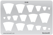 Plastic Stencil Template for Graphical Design Drawing Drafting Metal Clay Jewellery Jewellery Making - Pendants