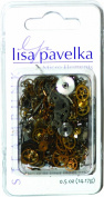 Lisa Pavelka 30ml Watch Parts for Crafting, Silver, Brass, Copper, Black and Steam Punk