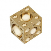 Small Solid Brass Dapping Doming Block - 57 Half-Spheres 3mm to 27mm - Jewellery Making Metal Forming