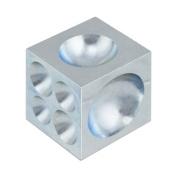 Steel Dapping Doming Block - 18 Half-Spheres 4mm to 34mm - Jewellery Making Metal Forming