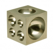 Dapping Block, 5.1cm , Half Sphere & Cylinder