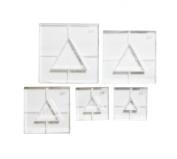 ArtWay Triangle Shape Frame Set