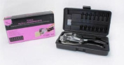 Bead Landing Power Punch Kit With Tool, Assorted Punches and Carrying Case! - Use To Punch Metal Jewellery!