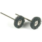 2 Brushes Jewellery Polishing Satin Finish fits For  For Dremel