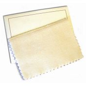 Hagerty 15792 15cm by 20cm Lasting Impressions Jewellery Polishing Cloth, Tan