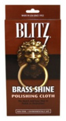 Blitz 20609 2-Pack Brass Shine Polishing Cloth