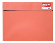 Star Products Classic Red Wallet Reclosable Fastener Portfolio, 24cm by 30cm