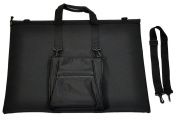 Tango Folio Black with matching E-Tablet Bag, 60cm by 80cm
