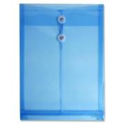 Wholesale CASE of 25 - Itoya Transparent String Closure Poly Envelopes-Poly Envelopes,Button/String Clsre,33cm x 25cm x 1-0.6cm ,BE